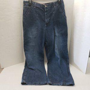 Old Navy Blue Jeans Denim 36 x 34 Loose
